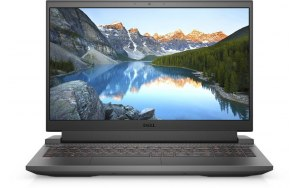 "Ноутбук DELL G15 5510 15.6""/Intel Core i7 10870H 2.2ГГц/8ГБ/512ГБ SSD/NVIDIA GeForce RTX 3050 Ti для ноутбуков - 4096 Мб/Windows 10/G515-0007/темно-серый"