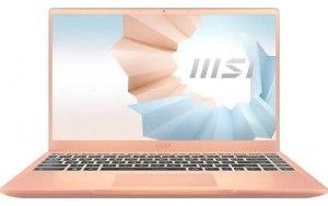 """Ноутбук MSI Modern 14 B11MO-265RU 14""""/IPS/Intel Core i5 1135G7 2.4ГГц/8ГБ/512ГБ SSD/Intel Iris Xe graphics /Windows 10/9S7-14D315-265/бежевый"""