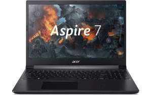 "Ноутбук ACER Aspire 7 A715-75G-535A 15.6""/IPS/Intel Core i5 9300H 2.4ГГц/8Гб/256Гб SSD/nVidia GeForce GTX 1650 - 4096 Мб/Windows 10/NH.Q87ER.008/черный"