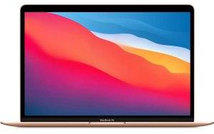 "Ноутбук APPLE MacBook Air 13.3"" IPS/Apple M1 8ГБ/256ГБ SSD/Mac OS/MGND3RU/A/золотой"