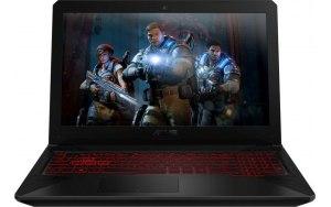 "Ноутбук ASUS TUF Gaming FX504GE-EN775T 15.6""/Intel Core i5 8300H 2.3ГГц/8Гб/1000Гб/256Гб SSD/nVidia GeForce GTX 1050 Ti 4096 Мб/Windows 10/90NR00I1-M13750/серый"
