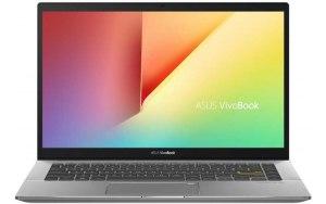 """Ноутбук ASUS VivoBook S433FA-EB069T 14""""/Intel Core i5 10210U 1.6ГГц/8Гб/256Гб SSD/Intel UHD Graphics /Windows 10/90NB0Q04-M01940/черный"""
