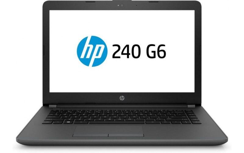 """Ноутбук HP 240 G6 14""""/Intel Core i3 7020U 2.3ГГц/4Гб/500Гб/Intel HD Graphics 620/DVD-RW/Free DOS 2.0/4BC99EA/черный"""