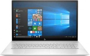 "Ноутбук HP Envy 17-ce0004ur 17.3""/IPS/Intel Core i7 8565U 1.6ГГц/16Гб/32Гб Intel Optane/512Гб SSD/nVidia GeForce MX250 4096 Мб/DVD-RW/Windows 10/7GX76EA/серебристый"