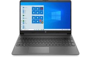 "Ноутбук HP 15s-fq0081ur 15.6""/IPS/Intel Celeron N4020 1.1ГГц/4ГБ/128ГБ SSD/Intel UHD Graphics 600/Windows 10/3C8Q3EA/серый"