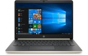 "Ноутбук HP 14-dk0017ur 14""/IPS/AMD Ryzen 7 3700U 2.3ГГц/8Гб/512Гб SSD/AMD Radeon Rx Vega 10/Windows 10/7JT53EA/золотистый"