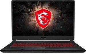 """Ноутбук MSI GL75 Leopard 10SCSR-045XRU 17.3""""/IPS/Intel Core i7 10750H 2.6ГГц/8ГБ/1ТБ/256ГБ SSD/nVidia GeForce GTX 1650 Ti - 4096 Мб/Free DOS/9S7-17E822-045/черный"""