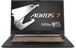 Ноутбук GIGABYTE Aorus 7 SB-7RU1130SH 17.3/IPS/Intel Core i7 10750H 2.6ГГц/16ГБ/512ГБ SSD/NVIDIA GeForce RTX 1660 Ti - 6144 Мб/Windows 10/9RC47SB8BG4S1RU0000/черный