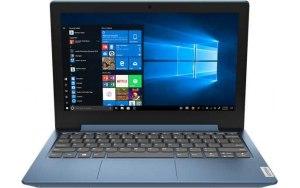 """Ноутбук LENOVO IdeaPad 1 11ADA05 11.6""""/AMD 3020e 1.2ГГц/4ГБ/128ГБ SSD/AMD Radeon /Windows 10/82GV003YRU/голубой"""
