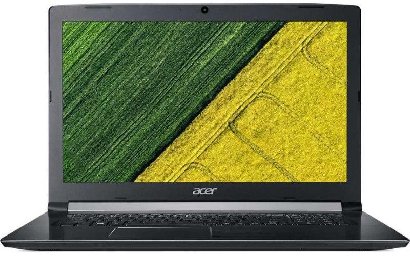 """Ноутбук ACER Aspire A517-51G-59H6 17.3""""/Intel Core i5 8250U 1.6ГГц/4Гб/256Гб SSD/nVidia GeForce Mx130 2048 Мб/Linux/NX.GVQER.007/черный"""