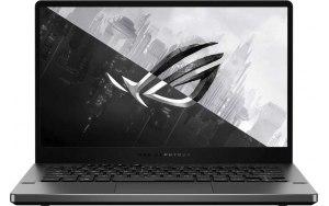 "Ноутбук ASUS ROG Zephyrus G14 GA401QM-HZ086T 14""/IPS/AMD Ryzen 7 5800HS 2.8ГГц/16ГБ/512ГБ SSD/NVIDIA GeForce RTX 3060 для ноутбуков - 6144 Мб/Windows 10/90NR05S6-M01550/серый"