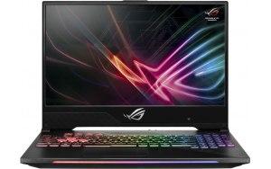 """Ноутбук ASUS ROG GL504GM-BN337T HERO II 15.6""""/IPS/Intel Core i7 8750H 2.2ГГц/8Гб/1000Гб/256Гб SSD/nVidia GeForce GTX 1060 6144 Мб/Windows 10/90NR00K2-M07330/черный"""