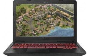 "Ноутбук ASUS TUF Gaming FX504GM-E4408 15.6""/IPS/Intel Core i5 8300H 2.3ГГц/16Гб/1000Гб/256Гб SSD/nVidia GeForce GTX 1060 3072 Мб/noOS/90NR00Q1-M10260/серый"
