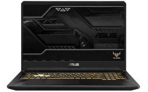 "Ноутбук ASUS TUF Gaming FX705GE-EW169 17.3""/IPS/Intel Core i7 8750H 2.2ГГц/8Гб/1000Гб/nVidia GeForce GTX 1050 Ti 4096 Мб/Free DOS/90NR00Z1-M03990/темно-серый"
