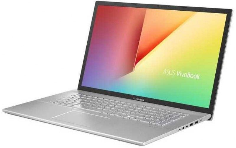 """Ноутбук ASUS VivoBook X712FB-BX015T 17.3""""/Intel Core i7 8565U 1.8ГГц/12Гб/2Тб/128Гб SSD/nVidia GeForce Mx110 2048 Мб/Windows 10/90NB0L41-M00150/серебристый"""