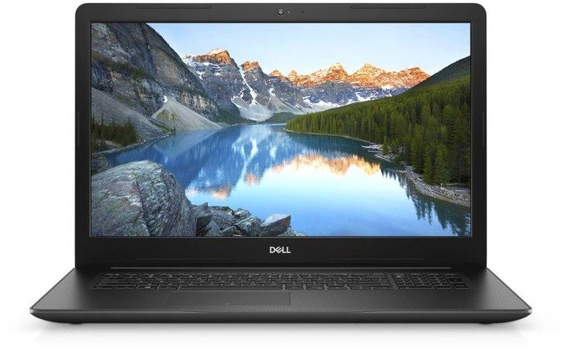 "Ноутбук DELL Inspiron 3780 17.3""/IPS/Intel Core i7 8565U 1.8ГГц/8Гб/1000Гб/128Гб SSD/AMD Radeon 520 2048 Мб/DVD-RW/Linux/3780-6891/черный"