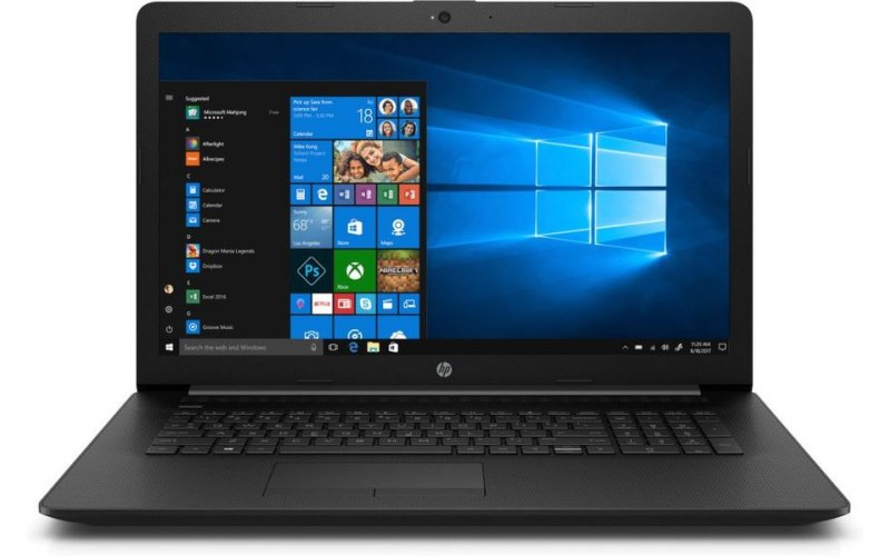 "Ноутбук HP 17-by1023ur 17.3""/Intel Core i5 8265U 1.6ГГц/4Гб/1000Гб/Intel UHD Graphics 620/DVD-RW/Windows 10/6PR53EA/черный"