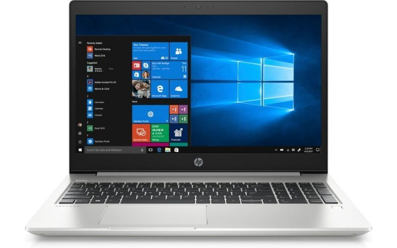 "Ноутбук HP ProBook 450 G6 15.6""/Intel Core i7 8565U 1.8ГГц/8Гб/1000Гб/Intel UHD Graphics 620/Windows 10 Professional/6BP56ES/серебристый"