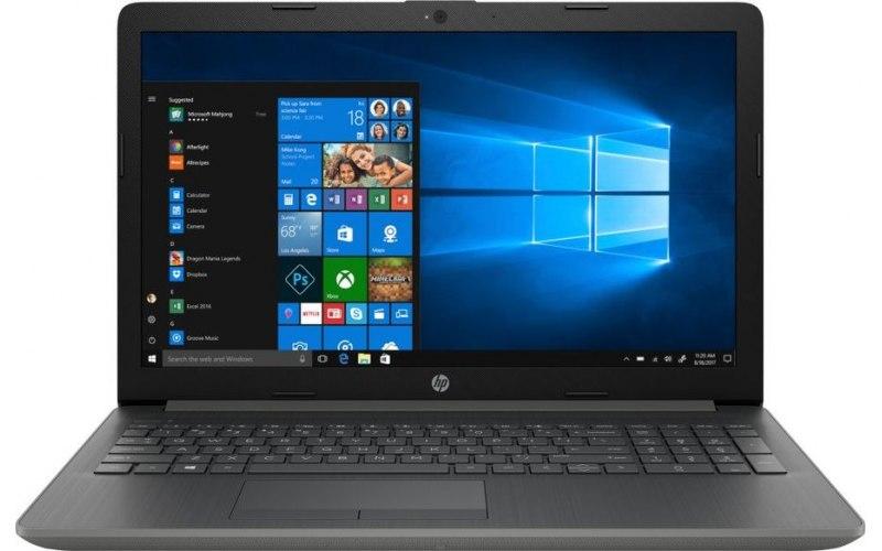 """Ноутбук HP 15-da0149ur 15.6""""/Intel Core i3 7020U 2.3ГГц/4Гб/128Гб SSD/nVidia GeForce Mx110 2048 Мб/Windows 10/4JV01EA/серый"""