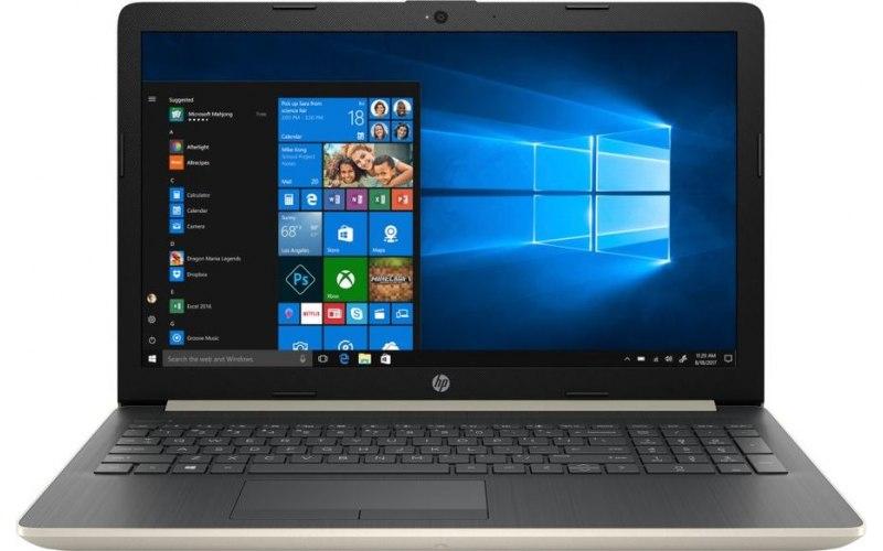 "Ноутбук HP 15-db0197ur 15.6""/AMD A4 9125 2.3ГГц/4Гб/500Гб/AMD Radeon R3/Windows 10/4MY28EA/золотистый"