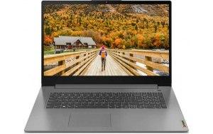 "Ноутбук LENOVO IdeaPad 3 17ITL6 17.3""/Intel Core i3 1115G4 3.0ГГц/8ГБ/256ГБ SSD/Intel UHD Graphics /noOS/82H9003FRK/серый"