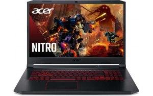 """Ноутбук ACER Nitro 5 AN517-52-784G 17.3""""/IPS/Intel Core i7 10750H 2.6ГГц/8ГБ/1000ГБ/256ГБ SSD/NVIDIA GeForce RTX 3060 для ноутбуков - 6144 Мб/Windows 10/NH.QAWER.00C/черный"""