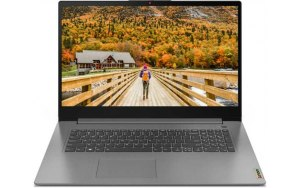"Ноутбук LENOVO IdeaPad 3 17ITL6 17.3""/Intel Core i3 1115G4 3.0ГГц/8ГБ/512ГБ SSD/Intel UHD Graphics /noOS/82H90092RK/серый"