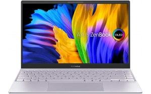 """Ноутбук ASUS Zenbook UX325EA-KG285 13.3""""/Intel Core i5 1135G7 2.4ГГц/16ГБ/512ГБ SSD/Intel Iris Xe graphics /noOS/90NB0SL2-M14510/светло-фиолетовый"""