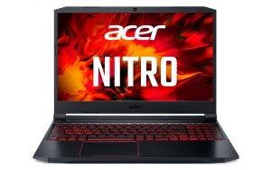 "Ноутбук ACER Nitro 5 AN515-55-51L7 15.6""/IPS/Intel Core i5 10300H 2.5ГГц/8ГБ/512ГБ SSD/NVIDIA GeForce GTX 1650 Ti - 4096 Мб/Eshell/NH.Q7JER.00B/черный"
