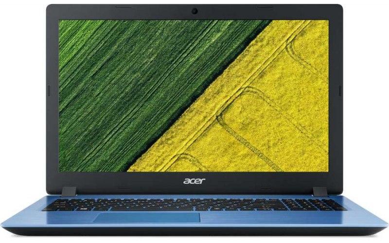 """Ноутбук ACER Aspire A315-51-55HQ 15.6""""/Intel Core i5 8250U 1.6ГГц/8Гб/1000Гб/256Гб SSD/Intel UHD Graphics 620/Windows 10 Home/NX.GS6ER.008/синий"""