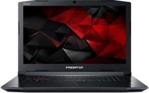 "Ноутбук ACER Helios 300 PH317-52-525L 17.3""/IPS/Intel Core i5 8300H 2.3ГГц/16Гб/1000Гб/128Гб SSD/nVidia GeForce GTX 1060 6144 Мб/Windows 10 Home/NH.Q3DER.009/черный"