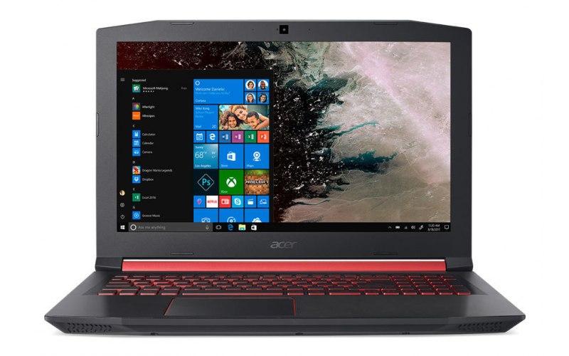 "Ноутбук ACER Nitro 5 AN515-52-77E3 15.6""/IPS/Intel Core i7 8750H 2.2ГГц/8Гб/256Гб SSD/nVidia GeForce GTX 1050 Ti 4096 Мб/Windows 10 Home/NH.Q3LER.023/черный"