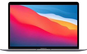 "Ноутбук APPLE MacBook Air M1 13.3"" IPS/Apple M1 16ГБ/256ГБ SSD/Mac OS/Z1240004P/серый космос"