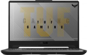 "Ноутбук ASUS TUF Gaming FX506LH-HN002 15.6""/Intel Core i5 10300H 2.5ГГц/8ГБ/512ГБ SSD/NVIDIA GeForce GTX 1650 - 4096 Мб/noOS/90NR03U1-M01040/серый"