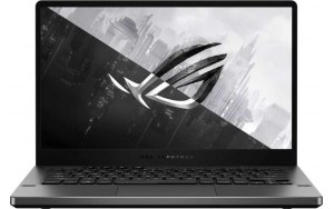 "Ноутбук ASUS ROG Zephyrus G14 GA401QM-HZ087T 14""/IPS/AMD Ryzen 9 5900HS 3.0ГГц/16ГБ/1ТБ SSD/NVIDIA GeForce RTX 3060 для ноутбуков - 6144 Мб/Windows 10/90NR05S6-M01560/серый"