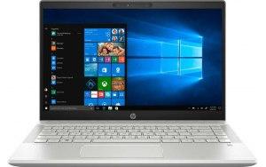 "Ноутбук HP Pavilion 14-ce0075ur 14""/Intel Pentium 4417U 2.3ГГц/4Гб/128Гб SSD/Intel UHD Graphics 610/Windows 10/7GV39EA/серебристый"