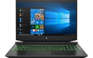 "Ноутбук HP Pavilion Gaming 15-ec1034ur 15.6""/IPS/AMD Ryzen 5 4600H 3.0ГГц/16ГБ/512ГБ SSD/NVIDIA GeForce GTX 1650 - 4096 Мб/Windows 10/1N3L4EA/черный"