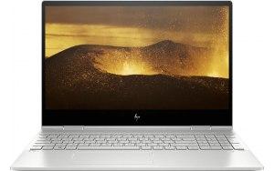 """Ноутбук-трансформер HP Envy x360 15-dr0002ur 15.6""""/IPS/Intel Core i7 8565U 1.8ГГц/16Гб/512Гб SSD/nVidia GeForce MX250 4096 Мб/Windows 10/6PU80EA/серебристый"""