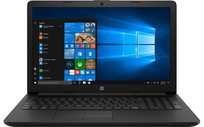 """Ноутбук HP 15-da0452ur 15.6""""/Intel Core i3 7020U 2.3ГГц/8Гб/1000Гб/nVidia GeForce Mx110 2048 Мб/Windows 10/7JX96EA/черный"""