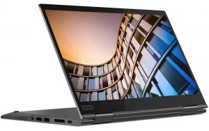 "Ноутбук-трансформер LENOVO ThinkPad X1 Yoga 14""/IPS/Intel Core i7 8565U 1.8ГГц/8Гб/256Гб SSD/Intel UHD Graphics 620/Windows 10 Professional/20QF0021RT/серый"