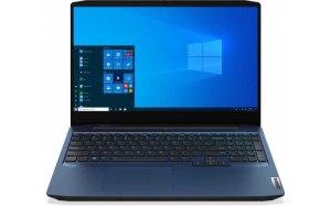 "Ноутбук LENOVO IP Gaming 3 15IMH05 15.6""/IPS/Intel Core i5 10300H 2.5ГГц/8ГБ/512ГБ SSD/NVIDIA GeForce GTX 1650 - 4096 Мб/Windows 10/81Y4006WRU/синий"