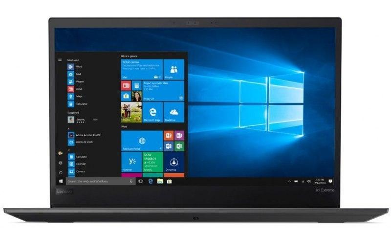 "Ноутбук LENOVO ThinkPad X1 Extreme i5 9300H 8Gb/SSD256Gb/GTX 1650 4Gb/15.6""/IPS/FHD/W10Pro/black [20qv000urt]"