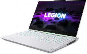 "Ноутбук LENOVO Legion 5 15ACH6H 15.6""/IPS/AMD Ryzen 5 5600H 3.3ГГц/16ГБ/1ТБ SSD/NVIDIA GeForce RTX 3060 для ноутбуков - 6144 Мб/Windows 10/82JU00DPRU/белый"