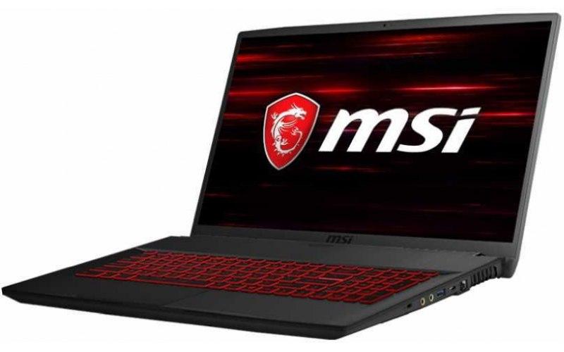 """Ноутбук MSI GF75 Thin 8RC-205RU 17.3""""/IPS/Intel Core i7 8750H 2.2ГГц/8Гб/1000Гб/128Гб SSD/nVidia GeForce GTX 1050 4096 Мб/Windows 10/9S7-17F112-205/черный"""