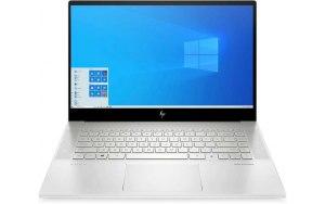 """Ноутбук HP Envy 15-ep0042ur 15.6""""/IPS/Intel Core i9 10885H 2.4ГГц/32ГБ/1000ГБ SSD/NVIDIA GeForce RTX 2060 MAX Q - 6144 Мб/Windows 10/22P38EA/серебристый"""