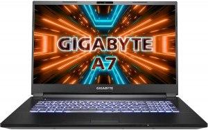 "Ноутбук Gigabyte A7 X1-CRU1130SH 17.3""/IPS/AMD Ryzen 9 5900HX 3.3ГГц/16ГБ/512ГБ SSD/NVIDIA GeForce RTX 3070 для ноутбуков - 8192 Мб/Windows 10 Home/X1-CRU1130SH/черный"
