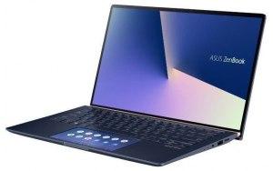 """Ультрабук ASUS Zenbook UX434FQ-A6072T 14""""/IPS/Intel Core i5 10210U 1.6ГГц/8ГБ/512ГБ SSD/NVIDIA GeForce MX350 - 2048 Мб/Windows 10/90NB0RM1-M00960/синий"""