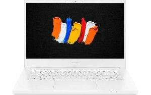 """Ноутбук ACER ConceptD 3 Pro CN315-72P-763N 15.6""""/IPS/Intel Core i7 10750H 2.6ГГц/16ГБ/1ТБ SSD/nVidia Quadro T1000 - 4096 Мб/Windows 10 Professional/NX.C5ZER.001/белый"""