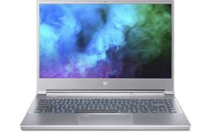 "Ноутбук ACER Predator Triton 300 PT314-51s-51NZ 14""/IPS/Intel Core i5 11300H 3.1ГГц/8ГБ/512ГБ SSD/NVIDIA GeForce RTX 3060 для ноутбуков - 6144 Мб/Eshell/NH.QBJER.004/серебристый"