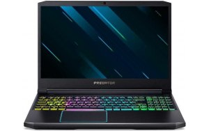 "Ноутбук ACER Helios 300 PH315-52-701C 15.6""/IPS/Intel Core i7 9750H 2.6ГГц/16Гб/1000Гб/256Гб SSD/nVidia GeForce GTX 1660 Ti - 6144 Мб/Windows 10/NH.Q53ER.011/черный"
